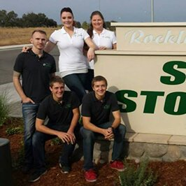 Staff At Rocklin Del Rio Self Storage