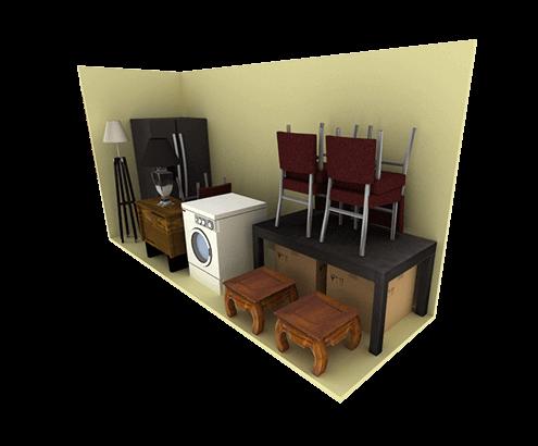 5'x15' Storage Unit
